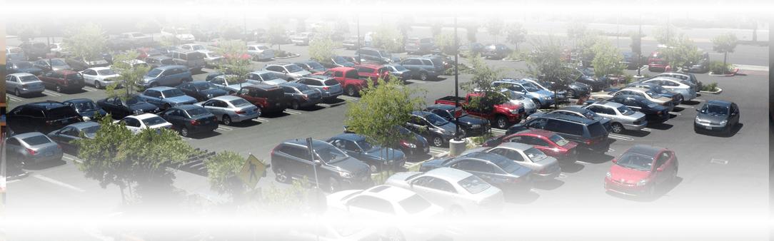 Parkeerplaats camerabeveiliging