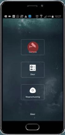 Main Menu - Dahua DMSS App