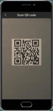 qr scanner - Dahua DMSS App